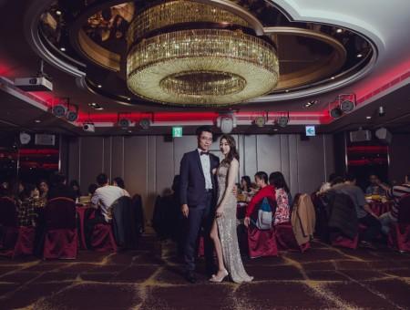 婚禮紀錄| 宴客地點:桃園 瀚品酒店| 聖傑+嘉容 訂結儀式  宴客